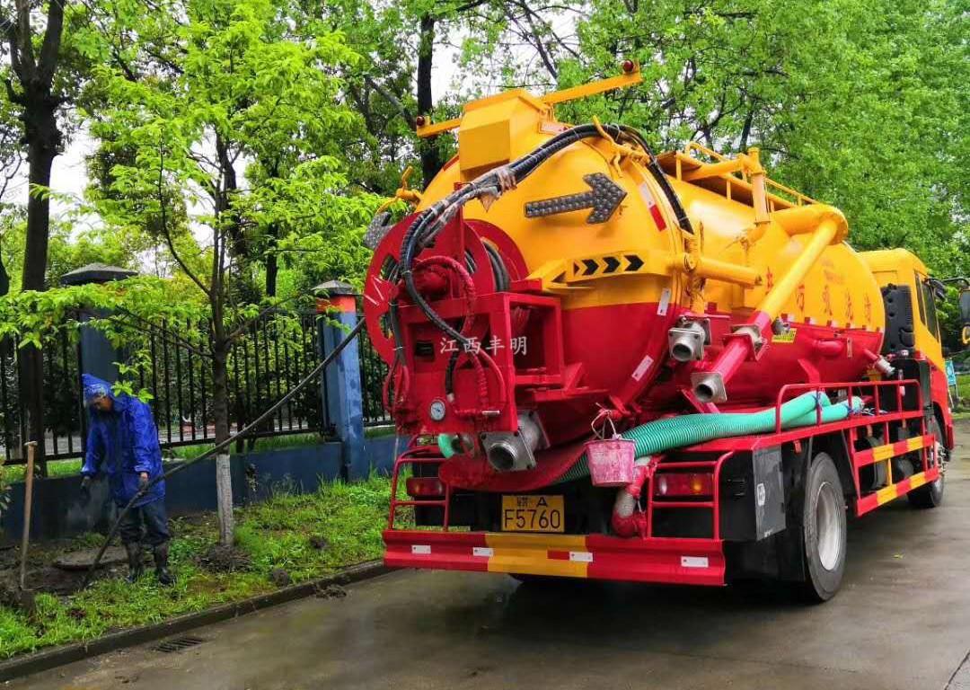 南昌红谷滩新区市政管道清洗