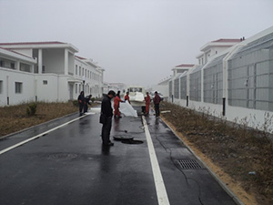 九江炼油厂原位固化法修复技术工程案例