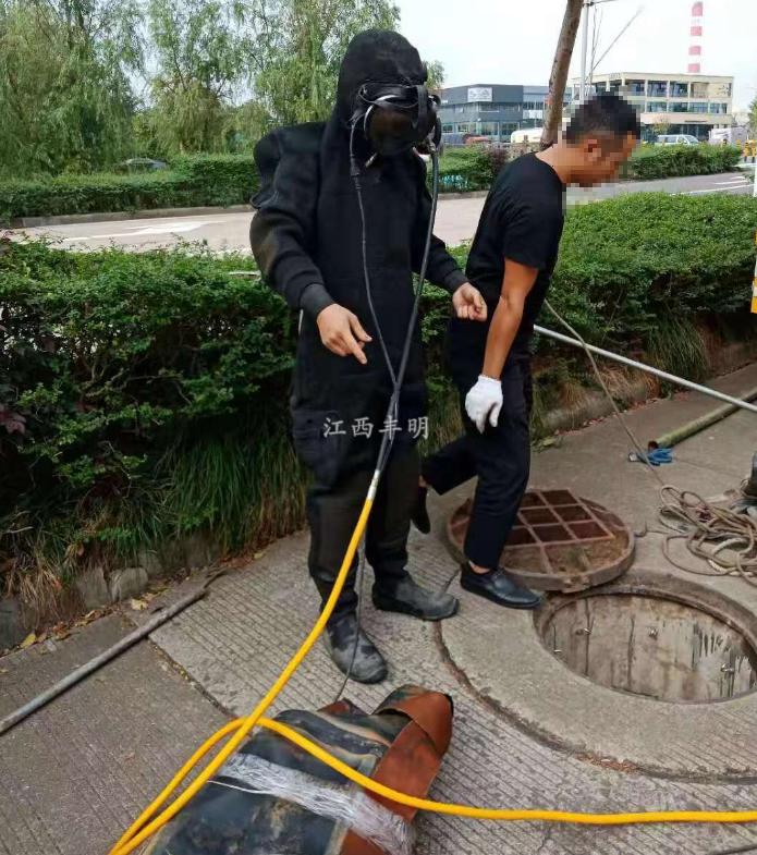 宜春上高县市政管道潜水气囊封堵