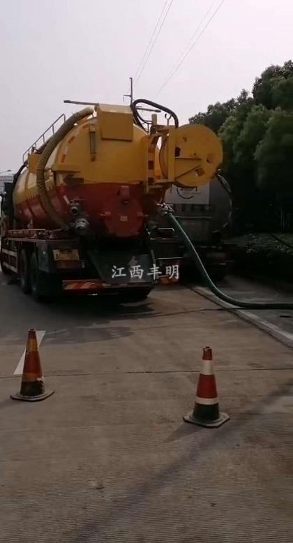 南昌市政管道清淤
