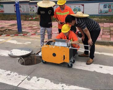 鹰潭管道CCTV检测机器人检测